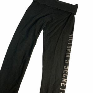 Victoria's Secret Pants & Jumpsuits - Victoria Secret Womens Black Legging Capri s